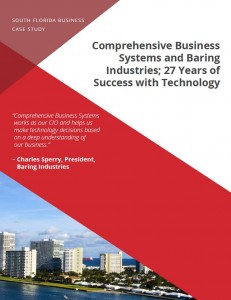 cover of case study with south florida scenery